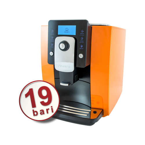Espressor automat de cafea, 19 bar, sistem profesional de spumare lapte OURSSON AM6244/OR