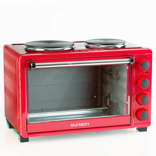 Cuptorul electric, cu ochiuri de gătit OURSSON MO3030/RD, 30L