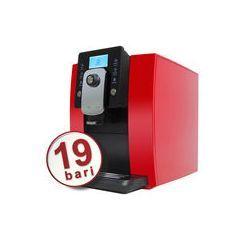 Espressor automat de cafea, 19 bar, sistem profesional de spumare lapte OURSSON AM6244/RD