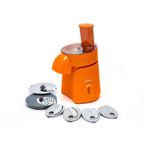 Răzătoare şi feliator electric portocaliu