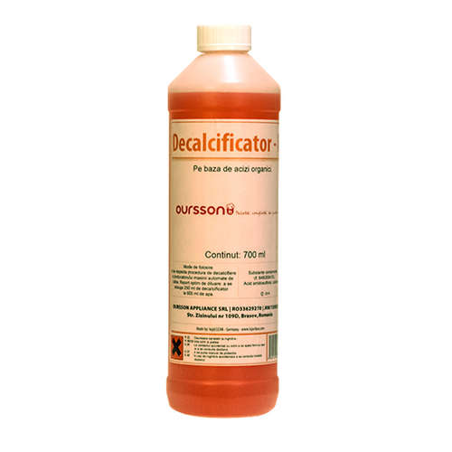 Decalcificator Oursson pe bază de acizi organici, 700 ml