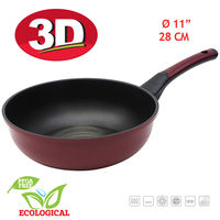 Tigaie Wok 3D OURSSON PW2822P/DC, 28 cm